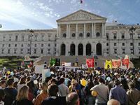 Milhares de portugueses manifestaram-se contra o aborto e a eutanásia