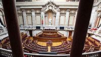 Chega, IL e Livre estão restringidos no parlamento
