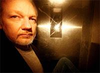 "Julian Assange ""em risco de vida"""