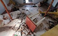 """Igreja Ortodoxa grega destruída """"por mais de 500 refugiados"""""""