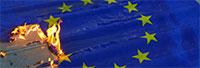Queimar a bandeira da UE é agora crime na Alemanha