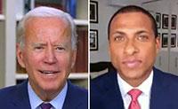 """Joe Biden questiona jornalista negro: """"És um drogado?"""""""