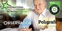 As ligações perigosas do Polígrafo e do Observador a George Soros