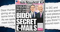Facebook e Twitter censuram artigo sobre negócios suspeitos de Biden
